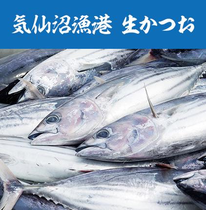 気仙沼漁港 生かつお